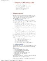 Giáo án - Bài giảng: Công nghệ thông tin: Tổng quát về phần mềm sửa chữa