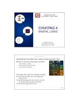 Bài giảng Kỹ nghệ máy tính: Chương 4 - Nguyễn Văn Thọ