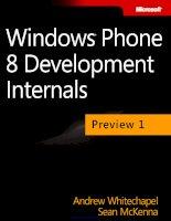 Giáo án bài giảng: Công nghệ thông tin về lập trình ứng dụng windows phone 8.0