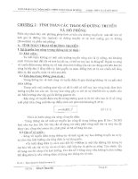 Tính toán các tham số đường truyền và mô phỏng   NPAD