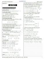 Chuyên đề số phức ôn thi đại học và cao đẳng