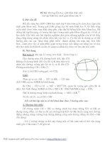 skkn hướng dẫn học sinh khai thác một số bài tập hình học lớp 9