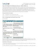 thiet lap raid tren windows server 2003 - phan i