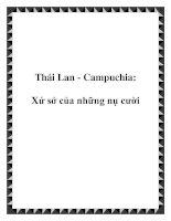 Thái Lan - Campuchia: Xứ sở của những nụ cười pdf