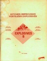lewis - kitchen improvised fertilizer explosives (infopub, 1985)