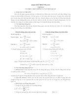 Phương pháp giải bài tập trắc nghiệm môn vật lý