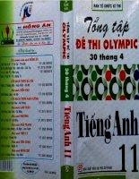 tổng tập đề thi olympic tiếng anh 11