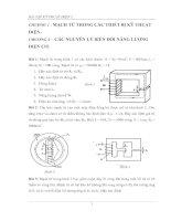 Bài tập kỹ thuật điện 1