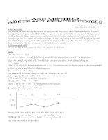 Phương pháp ABC chứng minh bất đẳng thức - NGUYỄN ANH CƯỜNG pdf