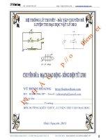 Chuyên đề luyện thi đại học - cao đẳng môn Vật lý: Chuyên đề ôn thi đại học môn lý dao động và sóng điện từ