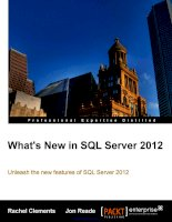 whats new in sql server 2012