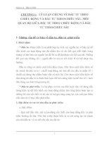 LÝ LUẬN CHUNG VỀ ĐẦU TƯ THEO CHIỀU RỘNG VÀ ĐẦU TƯ THEO CHIỀU SÂU, MỐI QUAN HỆ GIỮA ĐẦU TƯ THEO CHIỀU RỘNG VÀ ĐẦU TƯ THEO CHIỀU SÂU