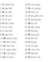 3000 chữ Hán thông dụng