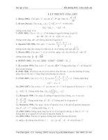 bài tập chuyên đề số học