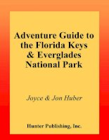adventure guide to the florida keys and the everglades national park