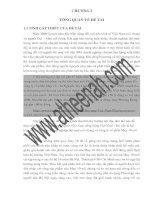Phân tích và dự báo cầu sản phẩm áo sơ mi nam của công ty cồ phần May 10 trên địa bàn Hà Nội tới năm 2015