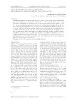 THỰC TRẠNG HIỆU QUẢ CHO VAY HỘ NGHÈO TẠI NGÂN HÀNG CHÍNH SÁCH XÃ HỘI TỈNH THÁI NGUYÊN ppt