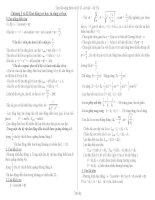 tổng hợp các công thức vật lý lớp  12 mới nhất