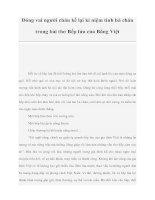 Đóng vai người cháu kể lại kỉ niệm tình bà cháu trong bài thơ Bếp lửa của Bằng Việt doc