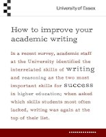 How to improve your academic writing pptx