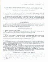 Phiên bản mở rộng 256/384/512-bit của phương pháp mã hóa Rijndael doc