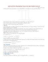 Dãy số và ứng dụng vào các bài toán vật lý