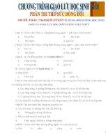 100 đề trắc nghiệm  dùng bồi dưỡng học sinh giỏi và giao lưu hsg môn tiếng việt lớp 5