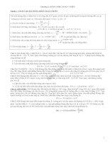 Chương 3. Dòng điện xoay chiều (vật lí 12)