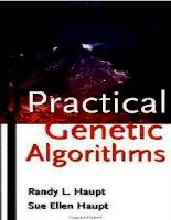 practical genetic algorithms - randy l. haupt, sue ellen haupt