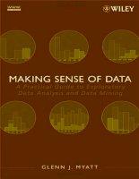 myatt - making sense of data i - practical guide to exploratory data analysis (wiley, 2007)