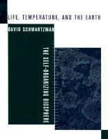 life temperature and the earth
