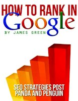 How to Rank in Google ppt