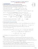 Chuyên đề luyện thi đại học - cao đẳng môn Vật lý: Ôn tập dao động điện từ