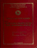khóa luận tốt nghiệp thực trạng áp dụng hệ thống quản lý chất lượng iso 9001 - 2000 trong ngành dệt may việt nam