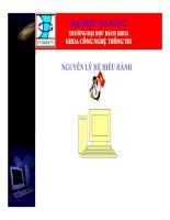 Giáo án - bài giảng:  Giới thiệu về bài giảng nguyên lý hệ điều hành (FULL)