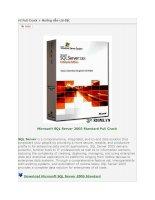 Microsoft SQL Server 2005 Standard Full Crack pdf