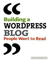 peachpit press building a wordpress blog people want to read