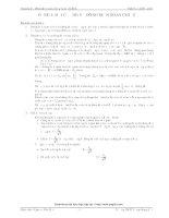 Chuyên đề dòng điện xoay chiều và mạch RLC (GV: Nguyễn Văn Đạt)