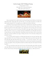Lịch sử ngày Giỗ Tổ Hùng Vương