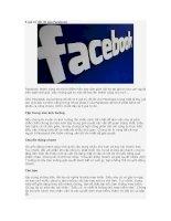 5 giá trị cốt lõi của Facebook docx