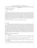 ĐÁNH GIÁ KHẢ NĂNG SỬ DỤNG HÌNH SỐ TỰ NHIÊN ĐỂ XÁC ĐỊNH THỂ TÍCH CHO MỘT SỐ LOÀI CÂY RỪNG TỰ NHIÊN KHAI THÁC CHỦ YẾU Ở VÙNG TÂY NGUYÊN doc