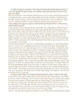 Tài liệu môn Cơ sở Văn hoá Việt Nam - Bài tham khảo