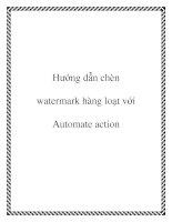 Hướng dẫn chèn watermark hàng loạt với Automate action pptx