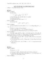 10 Bộ đề ôn thi vào lớp 10 môn Toán