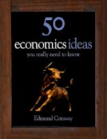 Economics Ideas You Really Need to Know - Edmund Conway