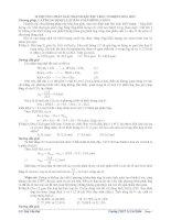 Chuyên đề luyện thi đại học - cao đẳng môn hóa học: 10 PHƯƠNG PHÁP GIẢI NHANH BÀI TẬP TRẮC NGHIỆM HÓA HỌC