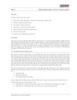 Giáo án - Bài giảng học tập công nghệ thông tin: Lập trình C và những khái niệm cơ bản trong lập trình C