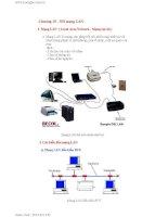 Giáo án - Bài giảng học tập công nghệ thông tin: Cách kết nối mạng LAN nhanh và hiệu quả