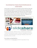 Slide Marketing- Phương tiện hấp dẫn để quảng bá doanh nghiệp doc