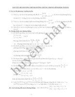 Chuyên đề hình học phẳng lớp 10
